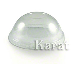 Karat® PET Dome Lid Fits 12 oz. Paper Food Container