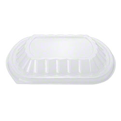 Karat® OPS Lid For 24 oz. PP Microwaveable Take Out Box