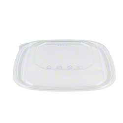 Karat® Clear PET Square Salad Bowl Dome Lid - 24-48 oz.