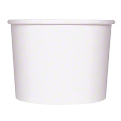 Karat® Gourmet White Paper Food Container - 10-12 oz.