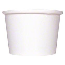 Karat® Gourmet White Paper Food Container - 8 oz.