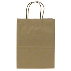 Karat® Kraft Paper Shopping Bag - Balboa (Small)