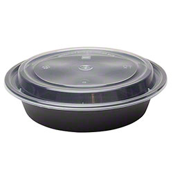 Karat® PP Injection Molded Round Food Container - 16 oz.