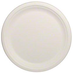 """Karat® Compostable Bagasse Plate - 10"""""""