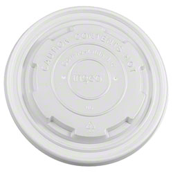 Karat® Compostable Food Container Lid - Fits 8 oz.
