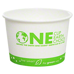 Karat® Eco-Friendly Paper Food Container - 16 oz.