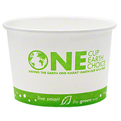 Karat® Eco-Friendly Paper Food Container - 8 oz.