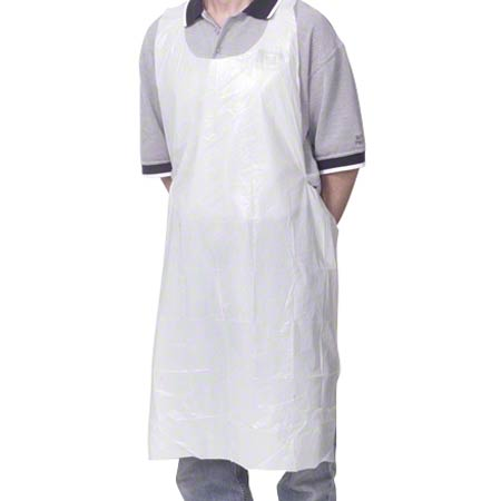 Royal Disposable Poly Apron - Heavyweight