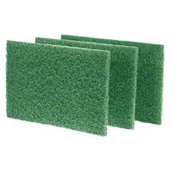 Royal Medium Duty Scouring Pad - Green - 6/10