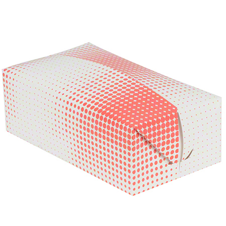 SQP Chicken Take-Out Hinged Box - Fast Top Dinner