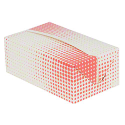SQP Chicken Take-Out Hinged Box - Fast Top Snack