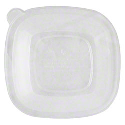 World Centric Fiber Lid For 24-48 oz. Fiber Square Bowl