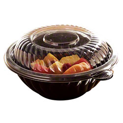 "EMI Yoshi PrepServe 9"" PET Bowl Lid - Fits 24/32/48 oz. Bowl"