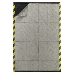 M + A Matting Spill Control Mat Well - 3' x 10', Striped