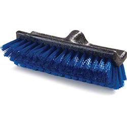 "Carlisle Flo-Pac® Dual Surface® Floor Scrub - 10"", Blue"