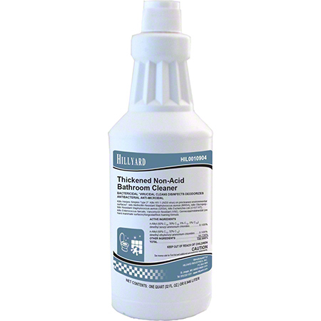 Hillyard Thickened Non-Acid Bathroom Cleaner - Qt.