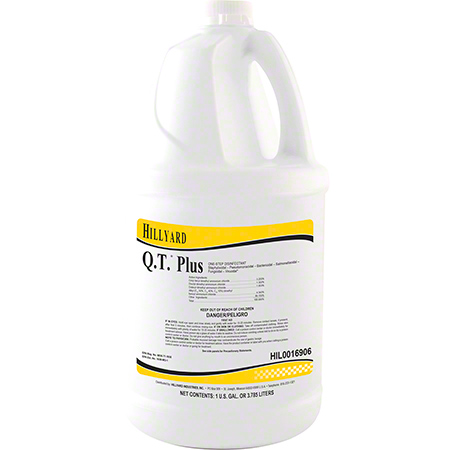Hillyard Q.T.® Plus Disinfectant - Gal.