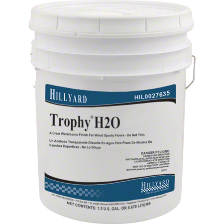 Hillyard Trophy® H2O Gym Finish - 5 Gal. Pail