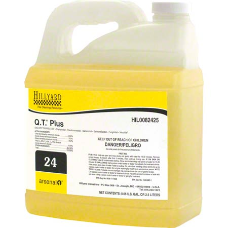 Hillyard Arsenal® 1 #24 Q.T.® Plus Disinfectant - 2.5 L