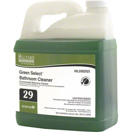 Hillyard Arsenal® 1 #29 Green Select® Bathroom Cleaner