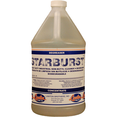 Lawton Brothers Starburst™ Cleaner Degreaser - Gal.