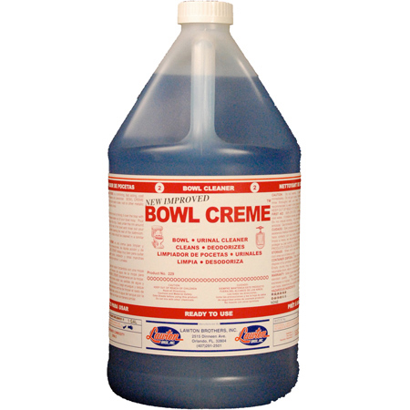Lawton Brothers Bowl Crème™ Bowl & Urinal Cleaner - Gal.