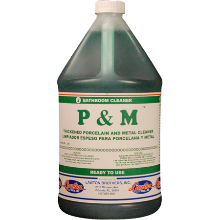 Lawton Brothers P & M™ Bathroom Cleaner - Gal.