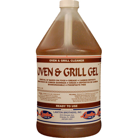 Lawton Brothers Oven & Grill Gel™ - Gal.