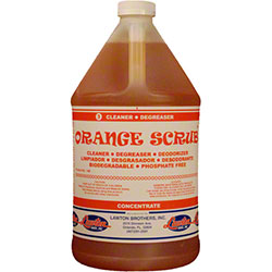 Lawton Brothers Orange Scrub™ Cleaner Degreaser - Gal.