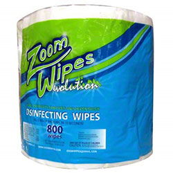 Zoom Evolution Disinfectant Wipes - 800 ct. Roll