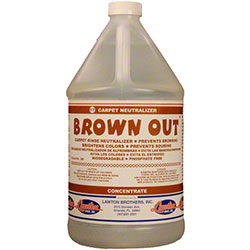 Lawton Brothers Brown Out™ Carpet Rinse Neutralizer -Gal.