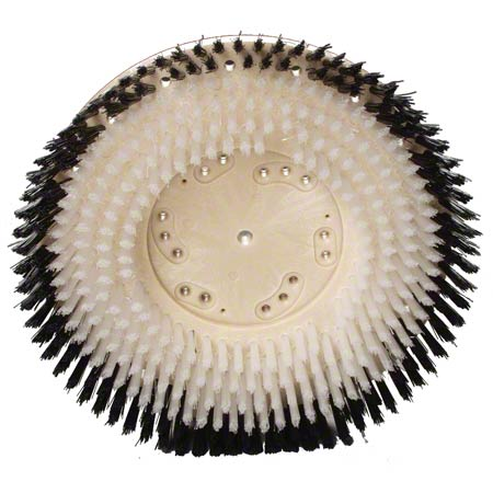 "Malish Showerfeed Polypropylene Brush - 15"", Plastic Block"