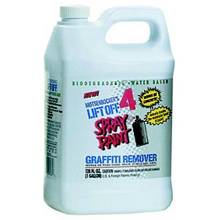 Motsenbocker's Lift Off® Spray Paint Graffiti Remover-Gal.