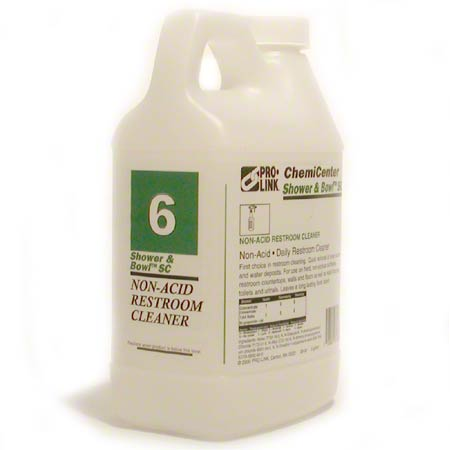 PRO-LINK® Shower & Bowl™ SC Restroom Cleaner - 1/2 Gal.