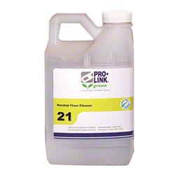 PRO-LINK® #21 Neutral Floor Cleaner - 1/2 Gal.
