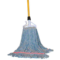 PRO-LINK® Standard Loop End Wet Mop - Medium, Blue