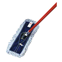 "Rubbermaid® Finish Mop - 18"" L x 5"" W, Looped Fringe"