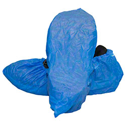 Safety Zone Polyethylene Shoe Cover w/Textured Tread - XL