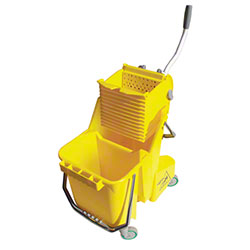 Unger® Smart Color 30L Bucket & Press Combo - Yellow