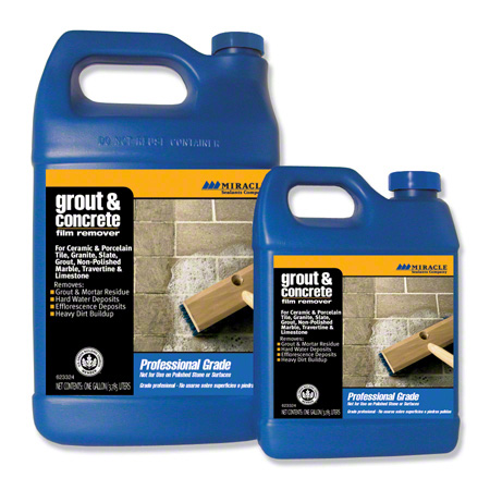 Miracle Sealants Grout & Concrete Film Remover - Gal.