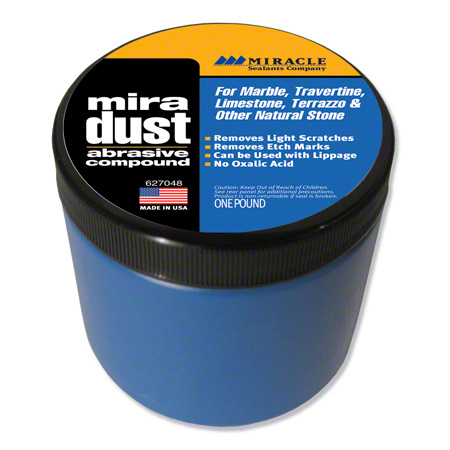 Miracle Sealants Mira Dust Polishing Compound - Lb.