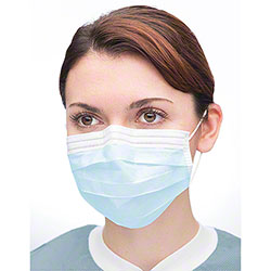 Single Use Earloop Surgical Face Mask - One Size Only