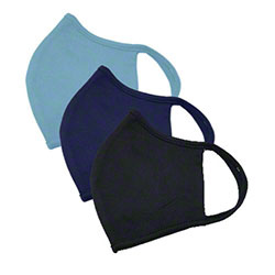 Dri-Tech Reusable/Launderable Mask - Large, Navy Blue