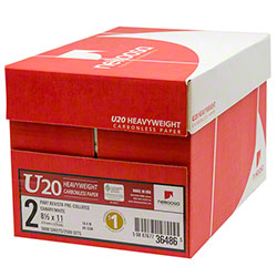 Nekoosa U20 Heavyweight Carbonless 4 Part Reverse Paper