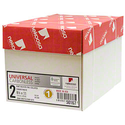 Nekoosa Universal Carbonless 2 Part Reverse/Straight Paper