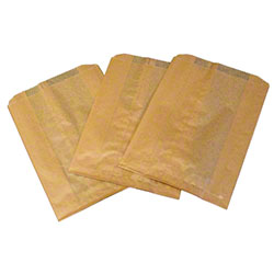 HOSPECO® Kraft Waxed Feminine Hygiene Disposal Bags