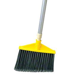 Rubbermaid® Angle Broom w/Aluminum Handle