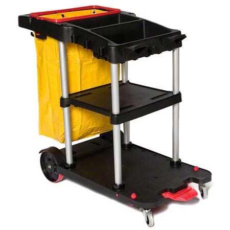 SSS® Dock'n Lock Janitor Cart