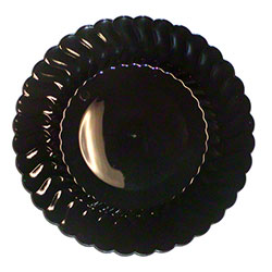 "Fineline Settings Flairware™ Dinner Plate - 9"", Black"