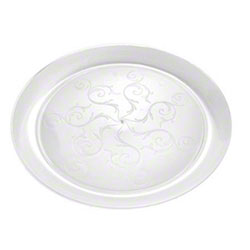Fineline Settings Savvi Serve™ Clear Plate - 6.25""